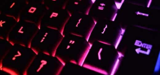 Image of computer keyboard