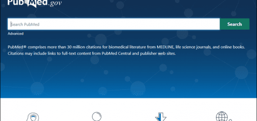 New PubMed screenshot