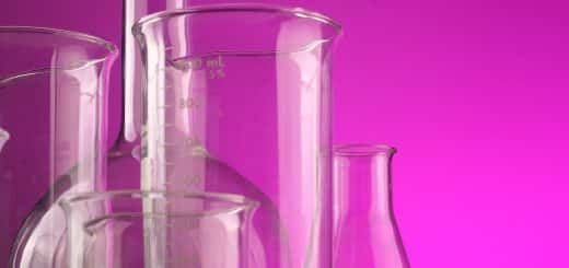 Image of laboratory glasses