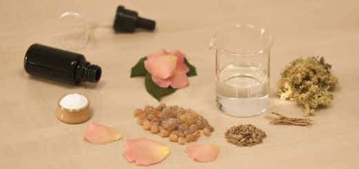 image of perfume ingredients