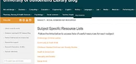 Key Subject Resources Social Sciences