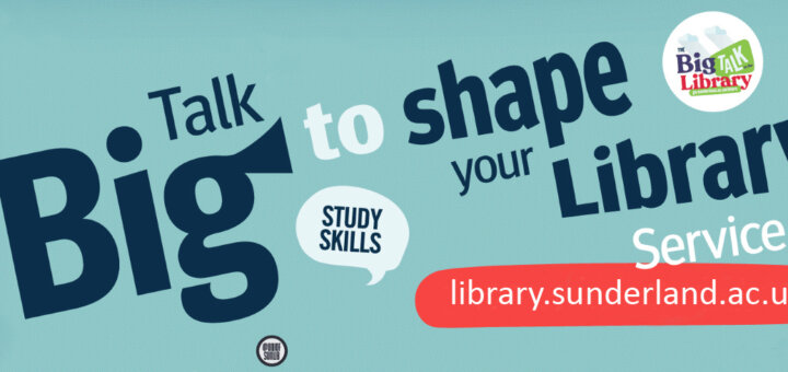 Big Talk to the Library Banner