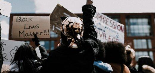 Black Lives Demonstration in Manchester from Unsplash