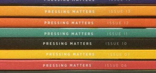 Pressing Matters journal